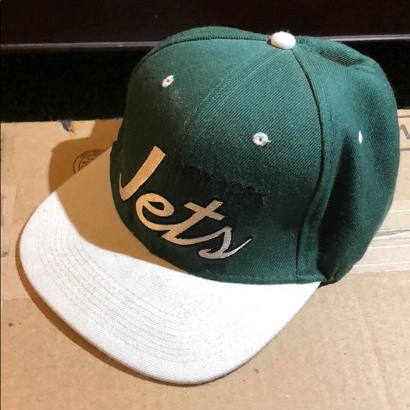 4e5d8ac81e6 Mitchell & Ness Accessories | Mitchell Ness New York Jets Snapback ...